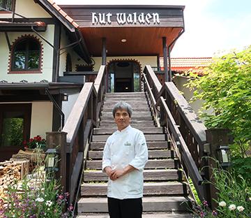 料理長・野菜ソムリエ 塚田春夫